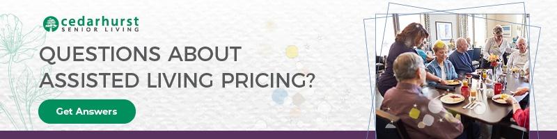Cedarhurst residents eating at community