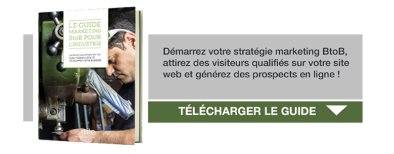 Téléchargez le guide MArketing BtoB pour l'industrie