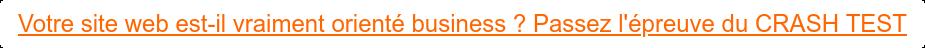 Votre site web est-il vraiment orienté business ? Passez l'épreuve du CRASH  TEST