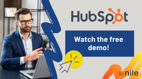 Demonstration of HubSpot English