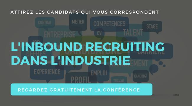 inbound recruiting dans l'industrie