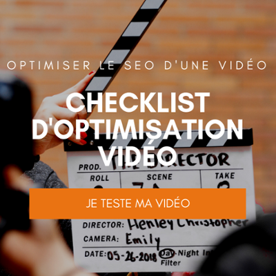 checklist pour optimser le seo d'une vidéo