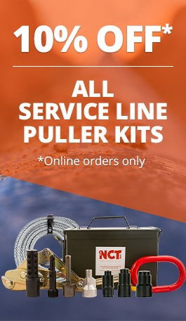 service line puller kit 10 percent off sale