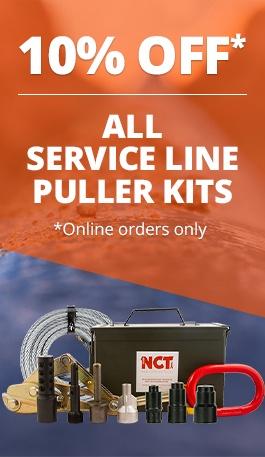 service line puller kit 10 percent off sale