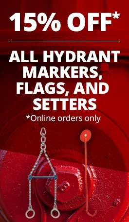 Hydrant Setter and Markers Sale Sidebar CTA