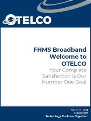 FHMS Broadband Welcome Booklet