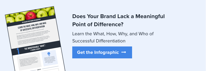 Download The What, How, Why, and Who of Successful Differentiation Infographic