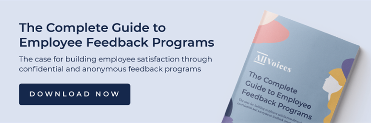 Download the complete guide to employee feedback programs