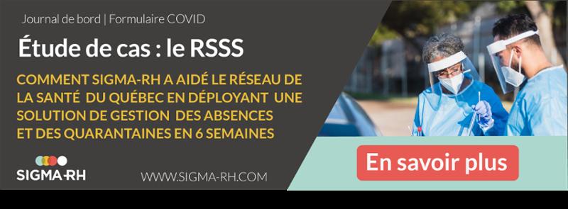Solution de gestion des absences et quarantaines Covid-19 SIGMA-RH