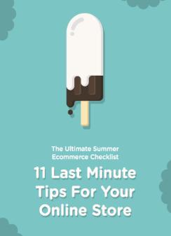 Summer ecommerce tips