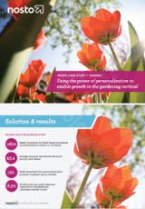 ecommerce gardening case study