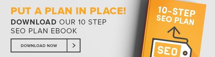 10 Step SEO Plan eBook