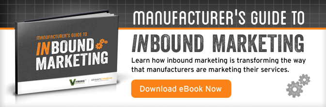 Manufacturing Inbound Marketing ebook