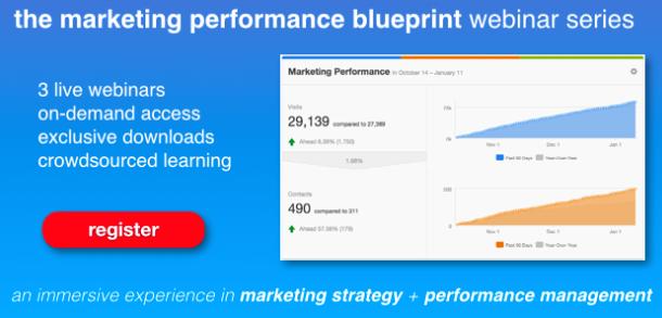 Paul Roetzer's Marketing Performance Blueprint Webinar Series Registration