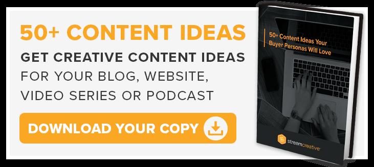 50+ Content Ideas