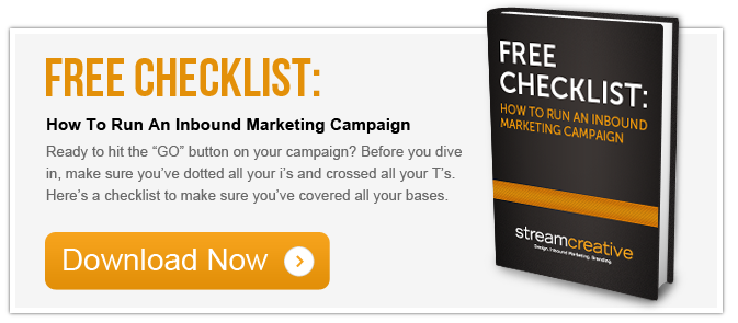 Free Download Inbound Marketing Campaign Checklist