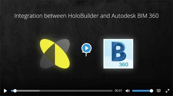Holobuilder and BIM 360 Integration