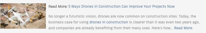 Drones In Construction Read More 2