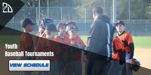 2dsports | Youth Baseball Tournaments Schedule