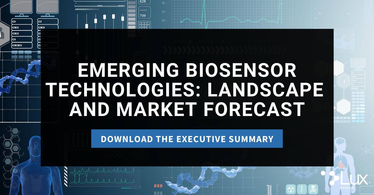 2021.06.24 Emerging Biosensor Technologies: Landscape and Market Forecast Press Release
