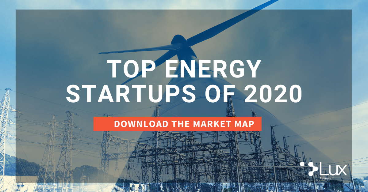 Download the Top Energy Startups of 2020 Market Map