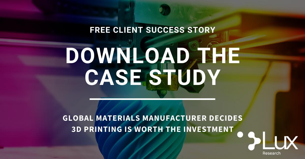 Materials Case Study Client Success Story