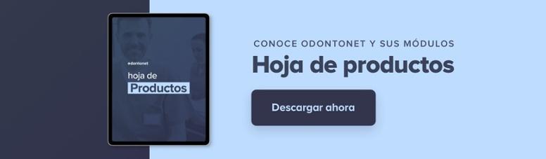 Hojas de producto de Odontonet