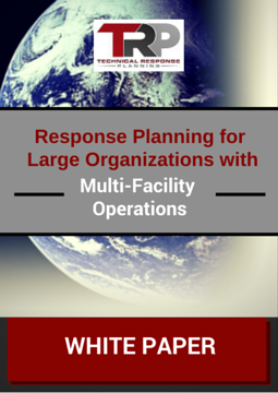 Response Planning For Large Organizations with Multi-Facility Operations DOWNLOAD