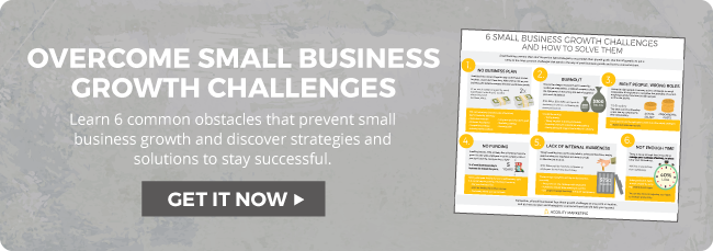 Overcome Small Business Growth Challenges