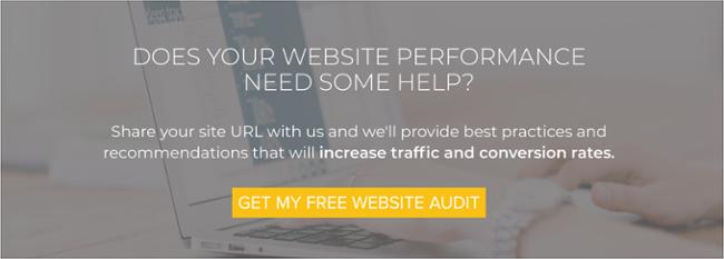 website audit CTA