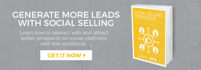 Download the social selling workbook!