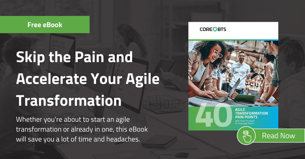agile transformation ebook
