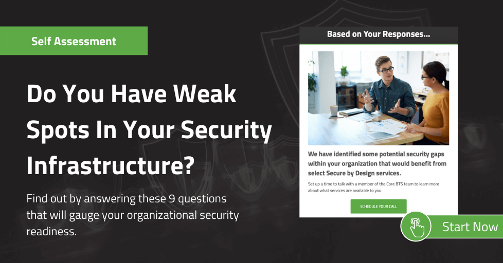 Secure By Design Assessment