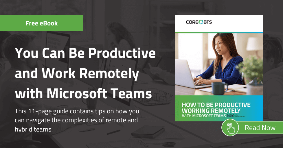 microsoft teams remote work ebook