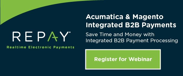 Integrated Payment Processing Acumatica and Magento