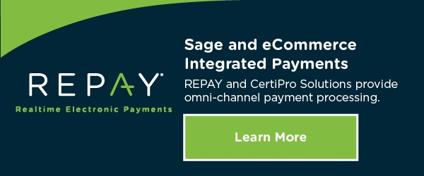 Sage and eCommerce Integrated Payments