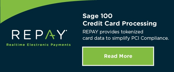 Integrated Payment Processing for Sage 100