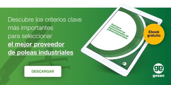 Criterios clave para seleccionar un buen proveedor de poleas industriales