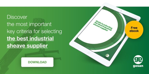 Discover de most important key criteria for selecting the best industrial sheave supplier
