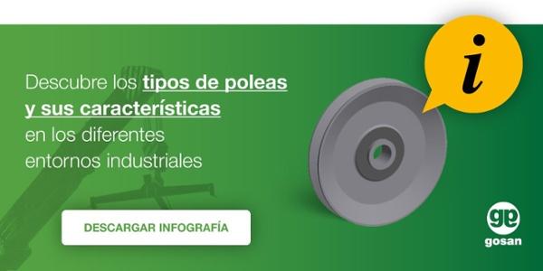 Descubre los tipos de poleas y sus características en los diferentes entornos industriales
