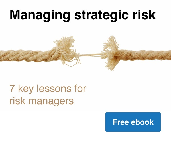 Call to action - Managing strategic risk; 7 key lessons for risk managers