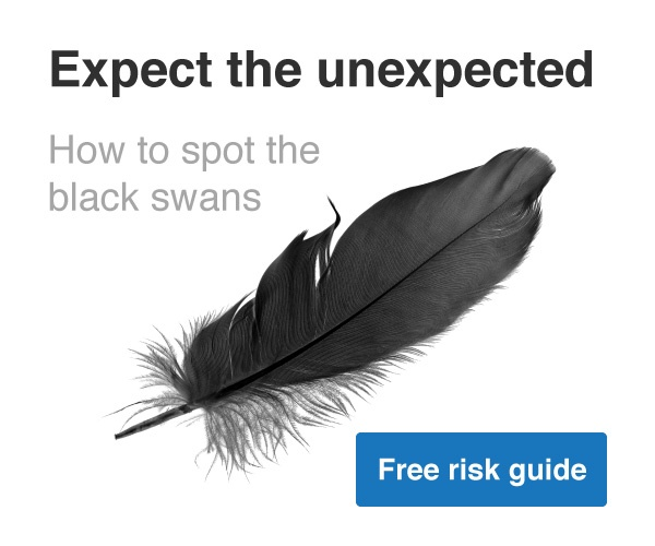 Call to action - Expect the unexpected; how to spot black swans
