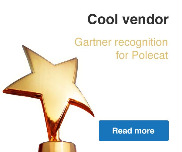 Gartner Recognition for Polecat - Read more
