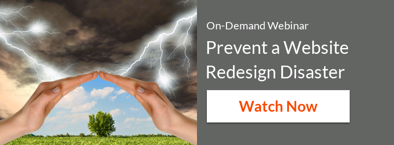 How to Prevent a Website Redesign Disaster