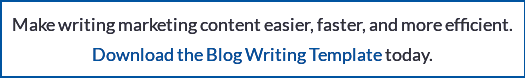 Make writing marketing content easier, faster, and more efficient. Download the Content Writing Template  today.