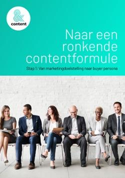 Contentstrategie Stap 1 Gratis whitepaper