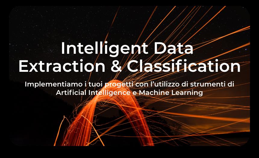 Intelligent data extraction & Classification