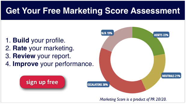 Marketing Score Sign Up