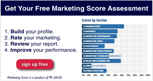 Marketing-Score-Sections