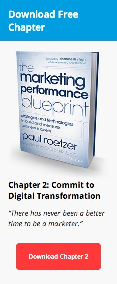 Marketing Performance Blueprint—Learn More